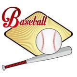 棒球象 免版税库存图片