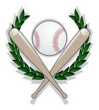 棒球赢利地区 库存图片
