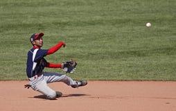 棒球轻碰同盟高级系列世界 库存照片