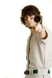 棒球运动员 免版税图库摄影