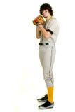 棒球运动员 图库摄影