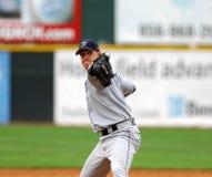 棒球间距投手版本 图库摄影