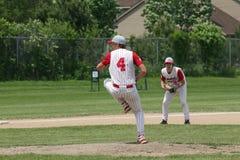 棒球高中 图库摄影