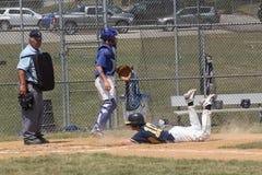 棒球高中 免版税库存图片