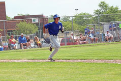 棒球高中 免版税图库摄影