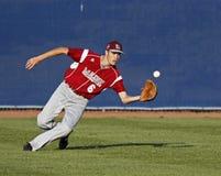 棒球centrefield同盟高级系列世界 图库摄影