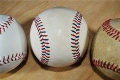 棒球stiches 库存照片