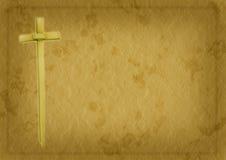 棕枝全日基督徒背景 库存照片
