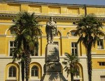 棕榈树在意大利 库存照片