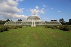 棕榈树议院在Kew庭院里 库存照片