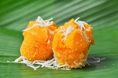 棕榈汁蛋糕 图库摄影