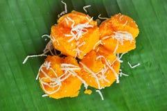 棕榈汁蛋糕 库存照片
