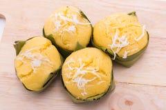 棕榈汁蛋糕 库存图片