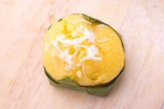 棕榈汁蛋糕 免版税图库摄影