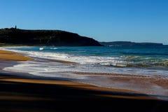 棕榈滩Pittwater悉尼澳大利亚 免版税图库摄影