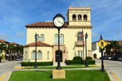 棕榈滩城镇厅,佛罗里达 库存图片
