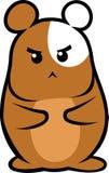 棕色仓鼠 免版税库存照片