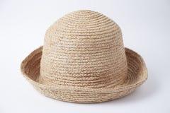 棕色帽子光 免版税库存照片