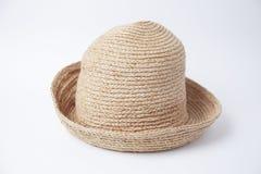 棕色帽子光 免版税库存图片