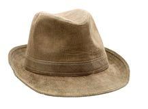 棕色帽子 库存图片