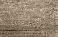 棕色平面的被抓的表面 免版税库存照片
