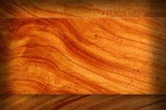 棕色木纹理空白。 免版税库存图片