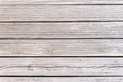 棕色木头的织地不很细甲板 免版税库存图片