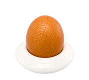 棕色杯子鸡蛋 库存图片
