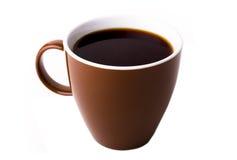 棕色杯子 免版税库存图片