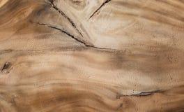 从棕色树的硬木纹理 能使用作为背景 免版税库存照片
