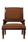 棕色椅子葡萄酒 图库摄影