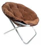 棕色椅子 免版税库存照片