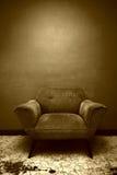 棕色椅子 库存照片