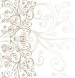 棕色灰色装饰品白色 向量例证