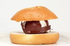 棕色甜点 免版税库存图片