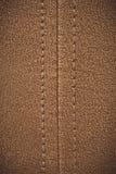 棕色皮革纹理 免版税库存图片