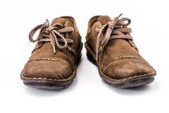 棕色皮鞋 图库摄影