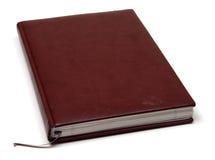 棕色笔记本 库存图片
