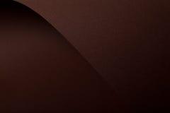 棕色纸板黑暗 库存照片