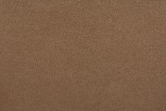 棕色绒面革纹理 免版税库存照片