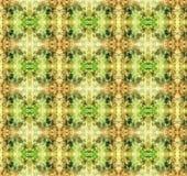 棕色绿色墙纸 免版税库存图片