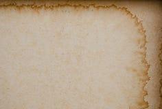 棕色老纸张 库存照片