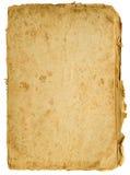 棕色老纸张 免版税库存图片