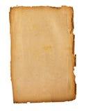 棕色老纸张 免版税图库摄影