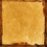 棕色老纸张 图库摄影