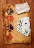 棕色老纸纹理木头 库存图片