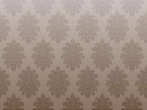 棕色葡萄酒墙纸 免版税图库摄影