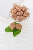棕色藤茎生活团仍然加糖 库存图片