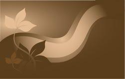棕色装饰 免版税库存照片