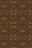 棕色设计墙纸 免版税库存照片